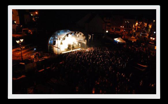 SkyShelter voor festivals